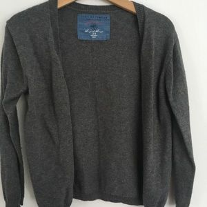 Boys Zara gray cardigan size 2
